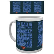 DC Comics Superman My Dad is Stronger - Mug