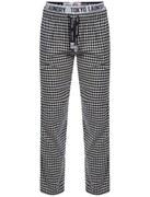 Tokyo Laundry Men's Johnston Small Check Flannel Loungepants - Midnight Blue