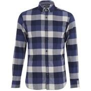 Produkt Men's DEK 84 Flannel Long Sleeved Shirt - Peacoat