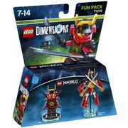 LEGO Dimensions, Ninjago, Nya Fun Pack