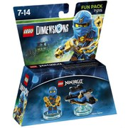 LEGO Dimensions, Ninjago, Jay Fun Pack
