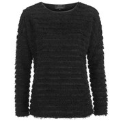 ONLY Women's Ulla Long Sleeve Top - Black