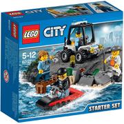 LEGO City: Set de introducción Prisión en la isla (60127)