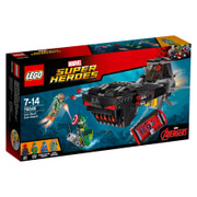 LEGO Marvel Super Heroes: Iron Skull duikbootaanval (76048)