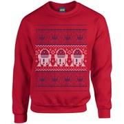Star Wars Christmas R2-D2 Sweatshirt - Red