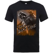 Star Wars Men's Halloween Dark Side Vader T-Shirt - Black