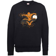Marvel Ultimate Spider-Man Halloween Jump Sweatshirt - Black