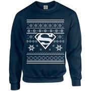 DC Originals Christmas Superman Kids Sweatshirt - Navy