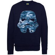 Star Wars Command Stormtrooper Military Blue Sweatshirt - Navy