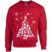 Star Wars Christmas Tree Sweatshirt - Red