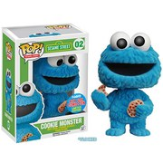 Sesamstraße Cookie Monster NYCC Exklusiv Flocked Funko Pop! Vinyl Figur