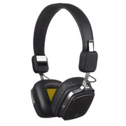 Kitsound Clash Bluetooth Headphones with Mic - Black