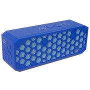 Kitsound Hive 2 Bluetooth Wireless Portable Stereo Speaker - Blue