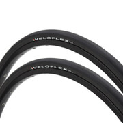 Veloflex Corsa 23 Clincher Road Tyre Twin Pack