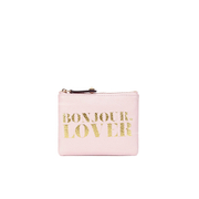 Rebecca Minkoff Women's 'Bonjour, Lover' Betty Pouch - Baby Pink