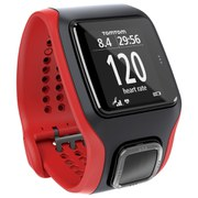 TomTom Runner Cardio GPS Watch - Black/Red