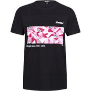 Santini Art Giro Team T-Shirt - Black