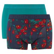 Bjorn Borg Men's Cursed 2 Pack Boxer Shorts - Blue
