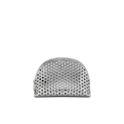 Loeffler Randall Women's Large Perforated Cosmetic Bag - Silver