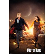 Doctor Who Run - 24 x 36 Inches Maxi Poster