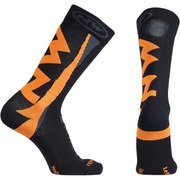 Northwave Extreme Winter High Socks - Black/Orange