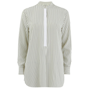 rag & bone Women's Virginia Shirt - Black/White Stripe