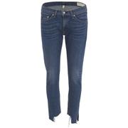 rag & bone Women's Skinny Capri Jeans - Hampton