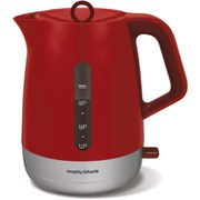 Morphy Richards 101209 Chroma Plastic Kettle - Red