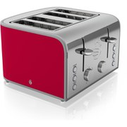Swan ST17010RN 4 Slice Toaster - Red
