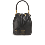 Marc by Marc Jacobs Women's Too Hot To Handle Large Drawstring Bag - Black