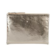Herschel Supply Co. Network Large Coin Pouch - Gold/Silver