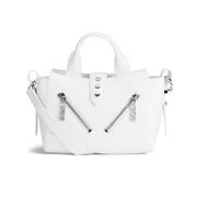 KENZO Women's Kalifornia Leather Mini Tote Bag - White