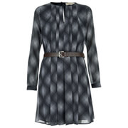 MICHAEL MICHAEL KORS Women's Mystic Pleated Dress - New Navy