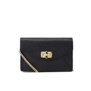 Diane von Furstenberg Women's Gallery Bitsy Small Leather Cross Body Bag - Black