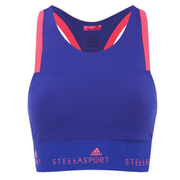 adidas Women's Stella Sport Gym Pad Bra - Blue/Red
