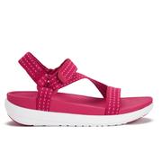 FitFlop Women's Z-Strap Sandals - Red/Bubblegum