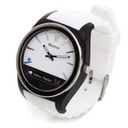 Martian Notifier Smart Watch (IOS and Android Compatible) - White