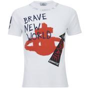 Vivienne Westwood MAN Men's Sketched Orb Print T-Shirt - White