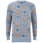 Vivienne Westwood Anglomania Men's Classic Sweatshirt - Light Blue