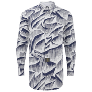 Vivienne Westwood Anglomania Men's Classic Long Sleeve Shirt - White/Blue