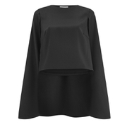 Lavish Alice Women's Cape Crop Top - Black