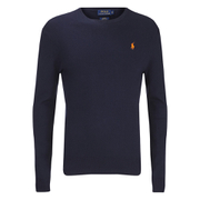 Polo Ralph Lauren Men's Crew Neck Pima Cotton Knitted Jumper - Hunter Navy
