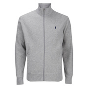 Polo Ralph Lauren Men's Full Zip Rip Knitted Jumper - Flagstone Heather