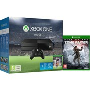 Xbox One 500GB Console - Includes FIFA 16 + Rise of the Tomb Raider