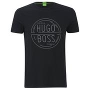 BOSS Green Men's Tee 1 Logo T-Shirt - Black