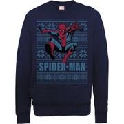 Marvel Comics Spider-Man Sweatshirt - Navy