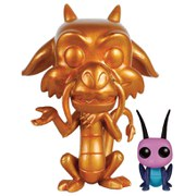 Disney Mulan Metallic Mushu & Cri-Kee Pop! Vinyl Figure