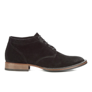 Belstaff Men's Stockwell Suede Lace Up Boots - Black