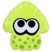 Splatoon Inkling Squid Cushion (Green)