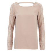 VILA Women's Unless Long Sleeve Top - Rugby Tan